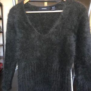 Express Angora Sweater Size Large